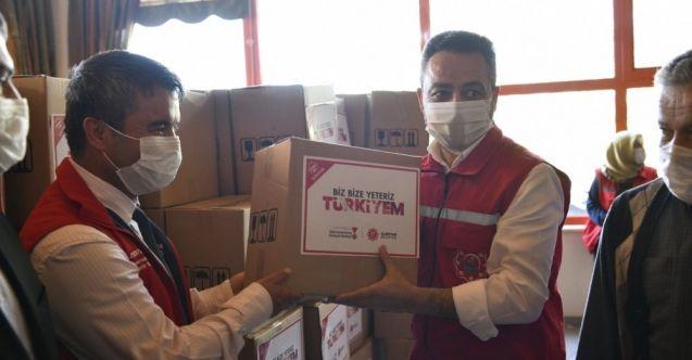 Başkan Gürbüz'den işsiz kalan vatandaşlara gıda desteği