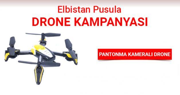 Elbistan Pusula Drone çekiliş kampanyası