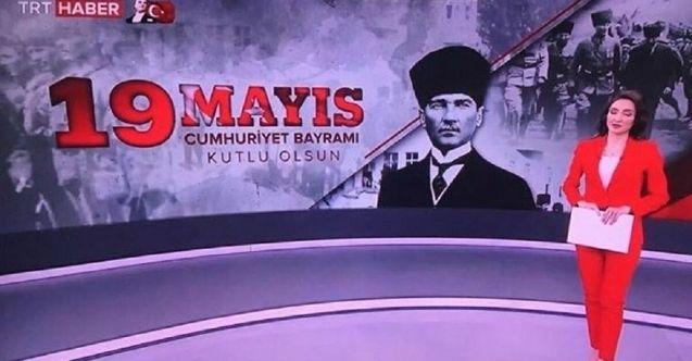 TRT'nin hatası sosyal medyada gündem oldu: '19 Mayıs Cumhuriyet Bayramı'