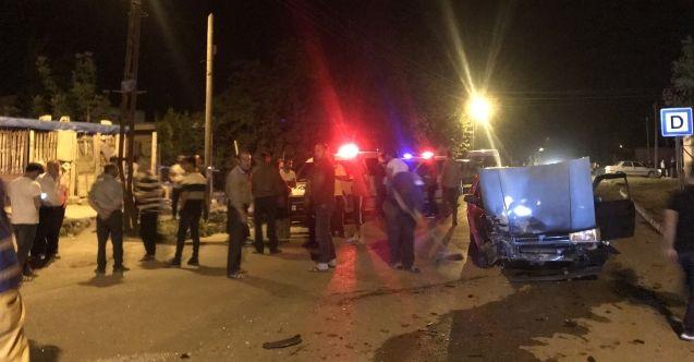 Elbistan'da feci trafik kazası! Ortalık savaş alanına döndü...