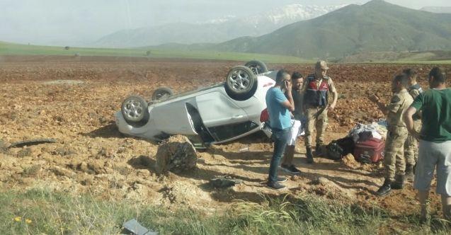 Elbistan-Göksun karayolunda kaza: 3 hafif yaralı