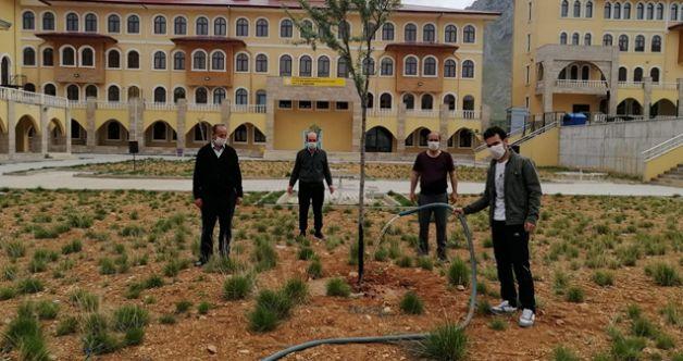 Elbistan'da infaz koruma memurlarından izolasyon sürecinde örnek davranış