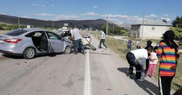 Afşin-Elbistan karayolunda feci kaza: 8 yaralı
