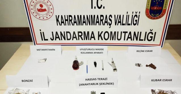 Jandarma'dan uyuşturu operasyonu: 3 gözaltı