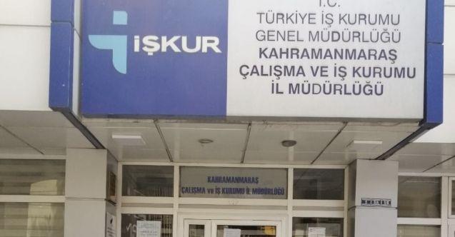 Kahramanmaraş İŞKUR Binasında 1 çalışanın koronavirüs testi pozitif çıktı