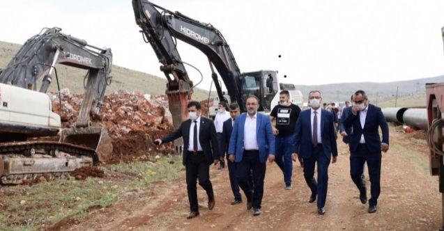 Elbistan ve Afşin'e 275 milyonluk içme suyu yatırımı