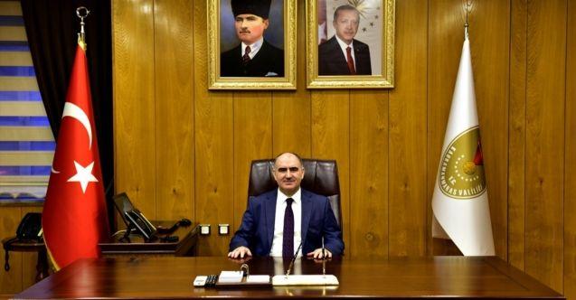 Vali Vahdettin Özkan'dan, Kahramanmaraş'a veda mesajı