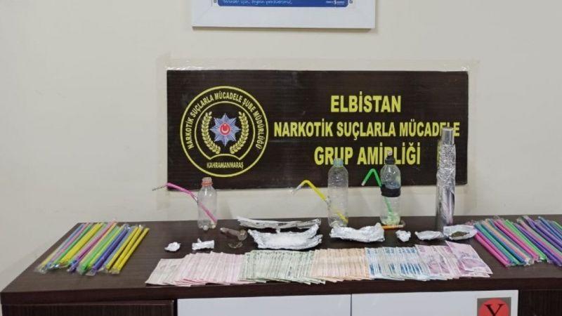 Elbistan'da uyuşturucu operasyonu: 2 kişi tutuklandı
