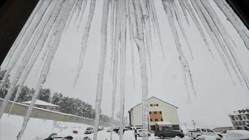 Doğu'da 4 il için buzlanma ve don uyarısı