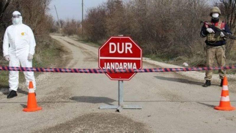 Mutasyonlu virüs Elbistan'a yaklaştı: Göksun'da bazı mahalleler karantinaya alındı