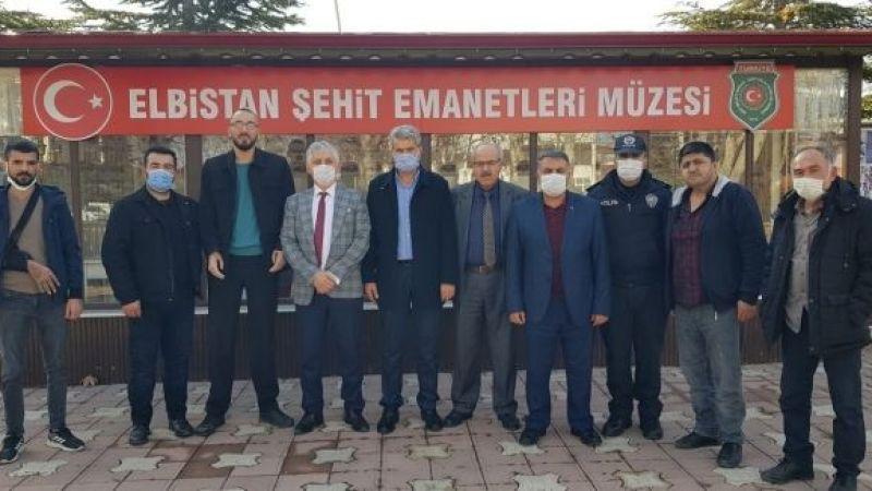 Emniyet Müdürü Kıvrak'tan Şehit ve Gaziler Derneğine ziyaret