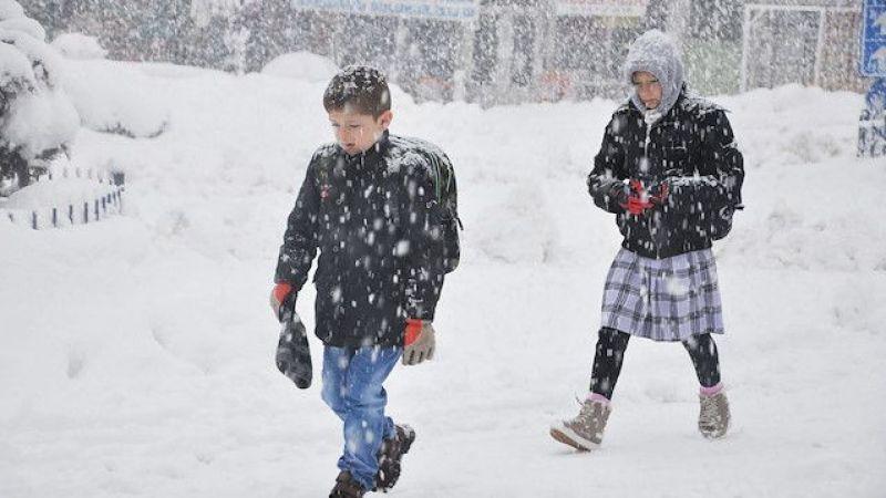 Son Dakika: Elbistan'da okullar tatil edildi!