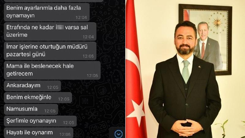 Başkan Gürbüz'den kendisini tehdit eden İYİ Parti meclis üyesi hakkında suç duyurusu