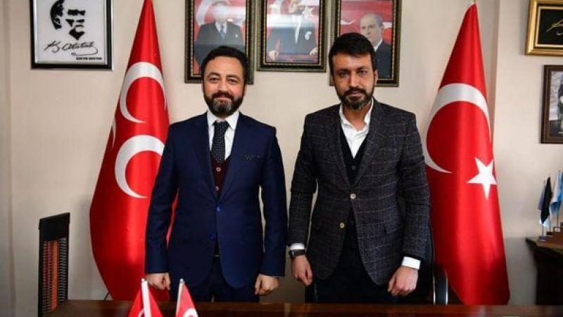 Başkan Gürbüz'den MHP'ye ziyaret