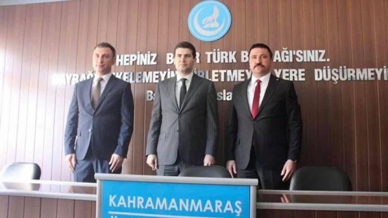 Kahramanmaraş Ülkü Ocakları İl Başkanı değişti