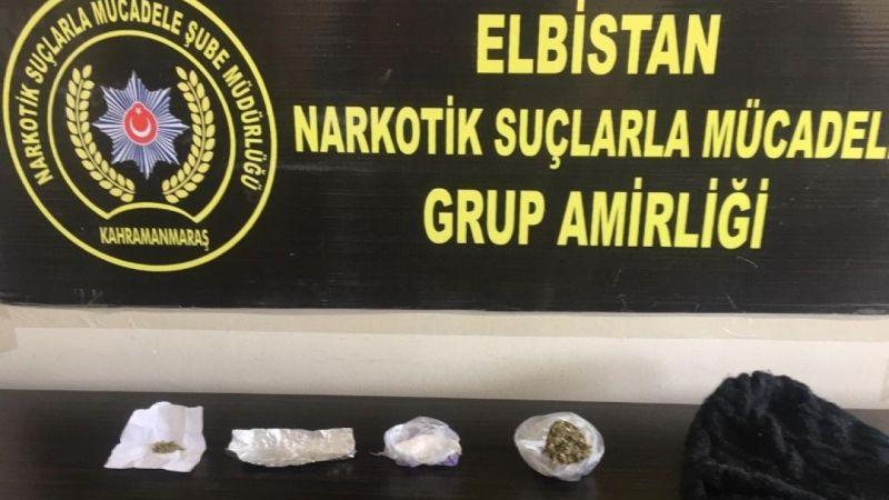 Nurhak'ta uyuşturucu operasyonu: 1 tutuklama