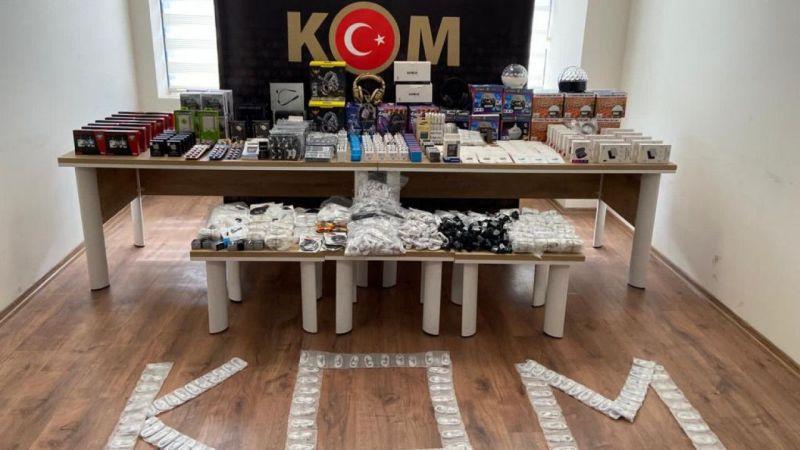 Kahramanmaraş'ta kaçakçılık operasyonu