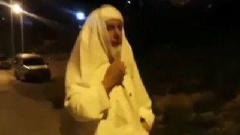 Kahramanmaraş'ta çarşaflı kişinin kim olduğu ortaya çıktı!