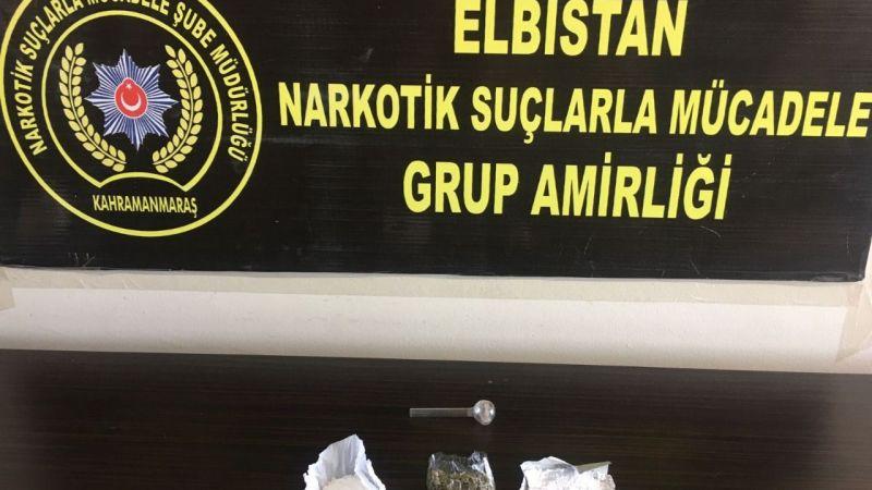 Nurhak'ta uyuşturucu operasyonu: 2 tutuklama