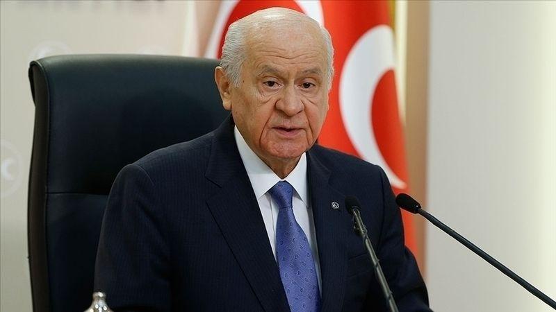 MHP Genel Başkanı Bahçeli: Harem-i Şerif'in statüsünü hedef alan İsrail hükümetini lanetliyorum