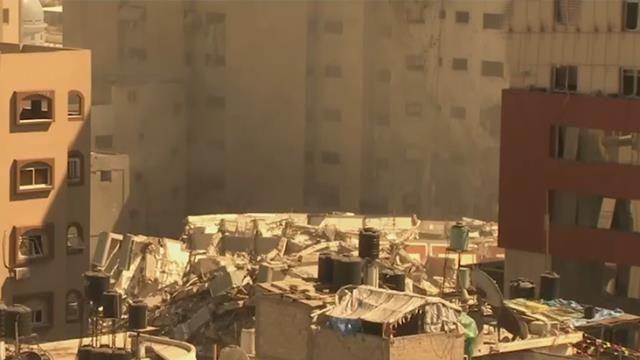 İsrail, Gazze'de uluslararası televizyonların bulunduğu 13 katlı bir binayı vurdu