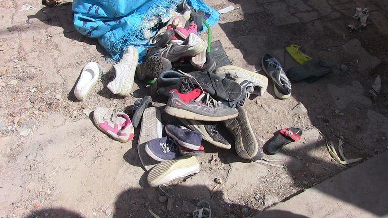 Elbistan'da çöp evden tonlarca atık madde çıktı