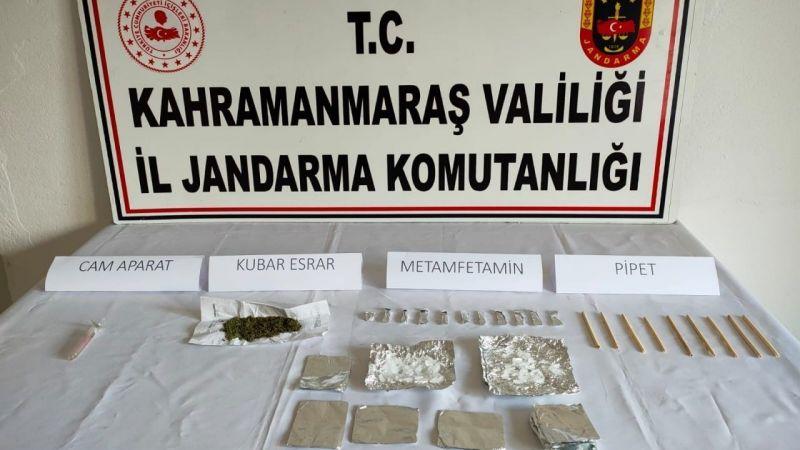 Elbistan ve Ekinözü'nde uyuşturucu operasyonu: 1 gözaltı
