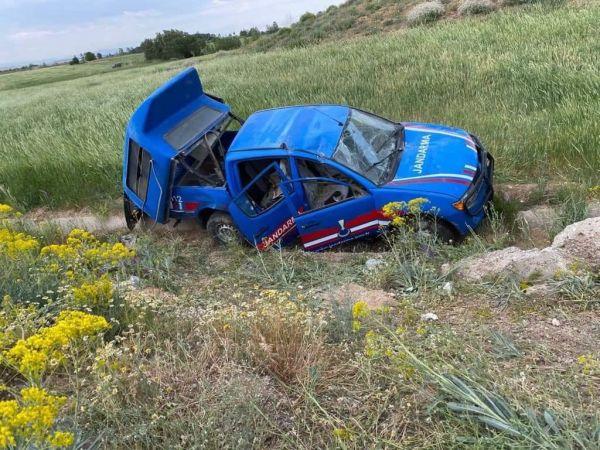 Afşin'de askeri araç kaza yaptı: 4'ü asker 6 yaralı