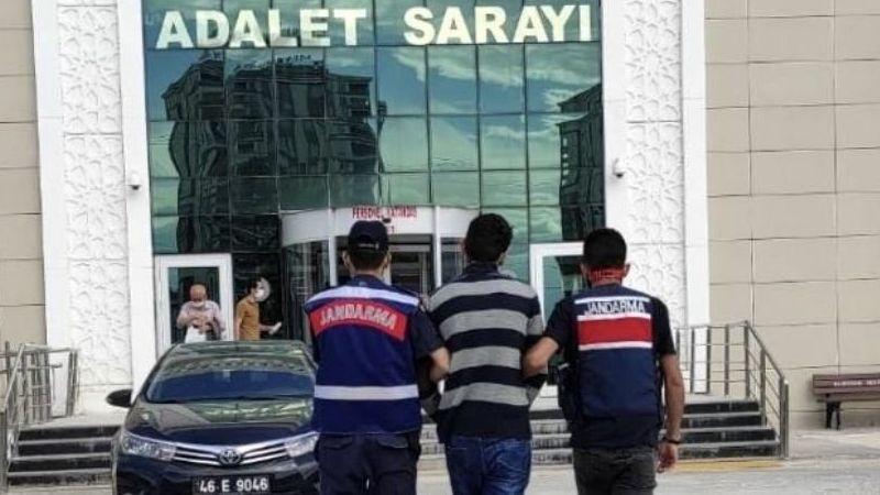 Elbistan'da 21 yıl hapis cezası ile aranan kişi JASAT ekiplerince yakalandı