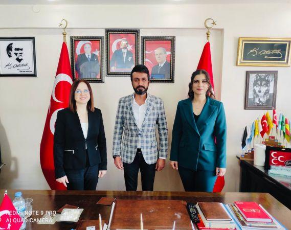 Elbistan MHP İlçe Teşkilatı Aile, Kadın ve Engellilerden sorumlu İlçe Komisyon Başkanlığına Avukat Fatma Çetin atandı