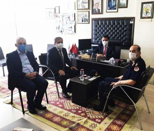Kaymakam Demir, Başkan Fırtına'yı ziyaret etti