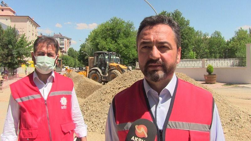 Başkan Gürbüz: Alt yapısı tamamlanan yolların asfalt çalışmaları başladı