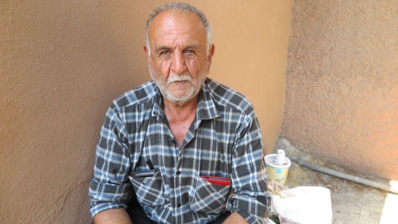 Kahramanmaraş'ta 65 yaşındaki yaşlı adam 1 aydır sokakta yaşıyor