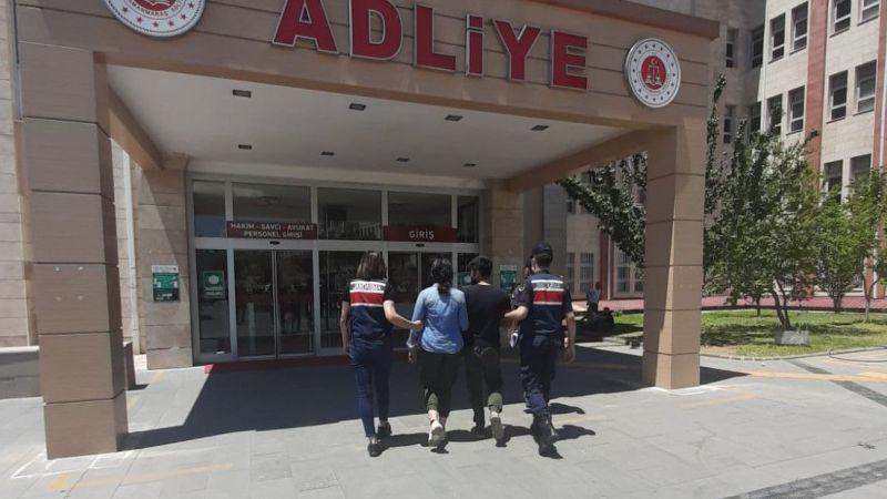 Kahramanmaraş'ta karı-koca hırsızı cezaevi ayırdı