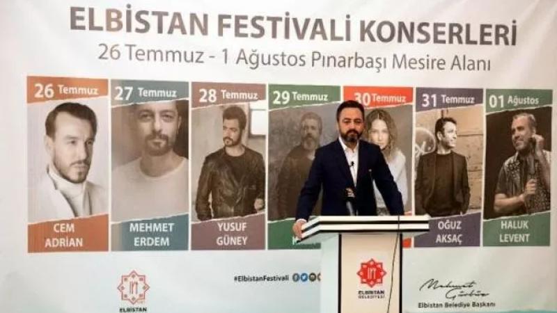 Büyükşehir belediyeleri böyle etkinlik yapamadı: 7 ünlü isim Elbistan'a geliyor!