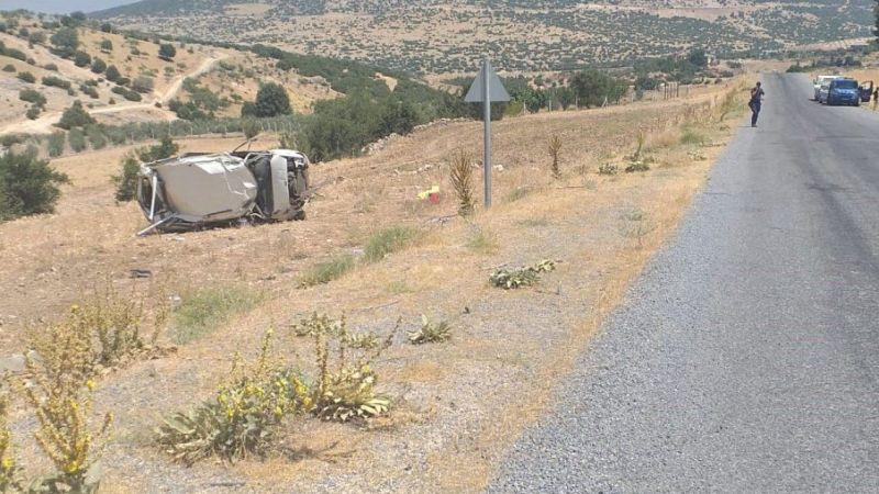 Otomobil takla attı: 3 ağır 7 yaralı