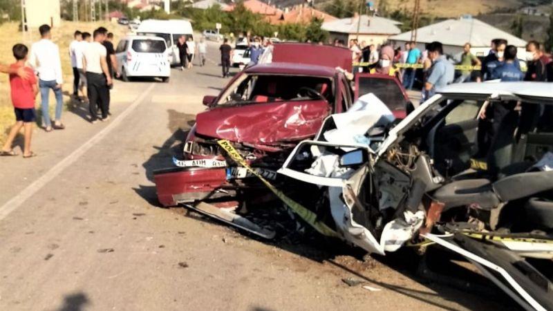 Afşin'de feci kaza: 1 ölü 6 yaralı