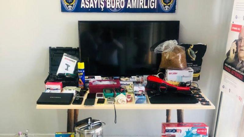 Elbistan'da polis 7 faili meçhul hırsızlık olayını aydınlattı