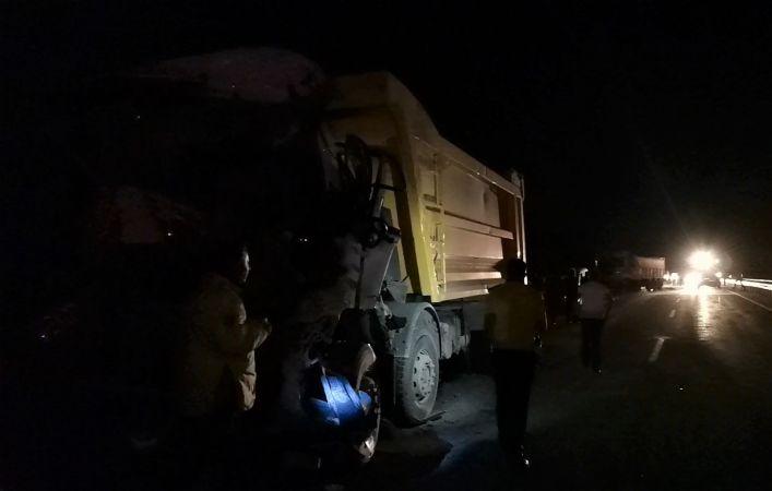 Kahramanmaraş-Kayseri yolunda zincirleme kaza: 1 ölü,3 yaralı