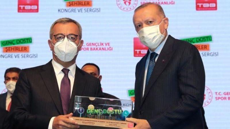 Cumhurbaşkanı Erdoğan'dan Kahramanmaraş'a ödül