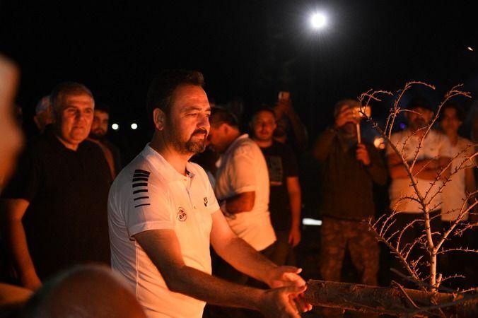 Elbistan off-road şenlikleri kamp ateşinin yakılmasıyla start aldı