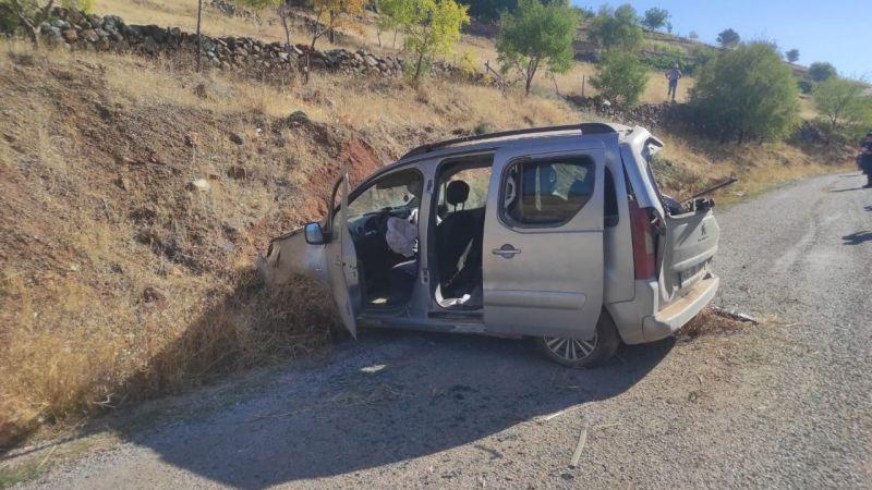 Ekinözü'nde trafik kazası: 3 yaralı