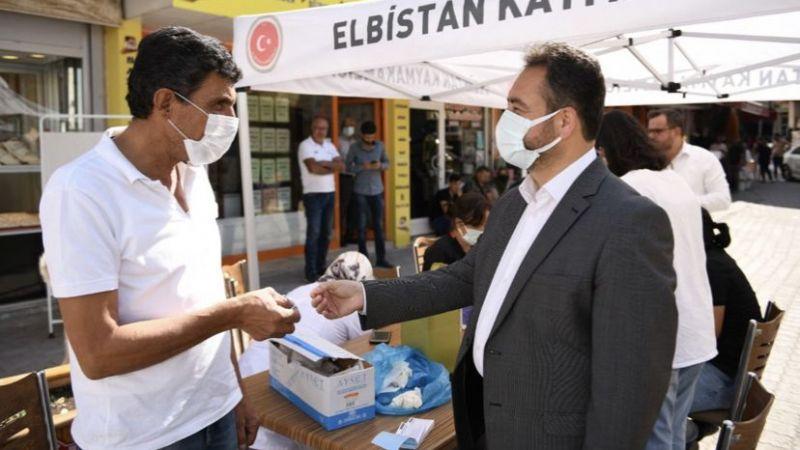 Elbistan'da kampanya sonuç verdi 12 bin kişi ilk doz aşısını oldu