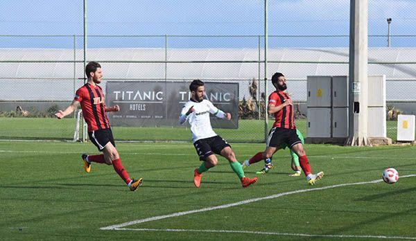 İşte Gazişehir Gaziantep maçının özet görüntüsü