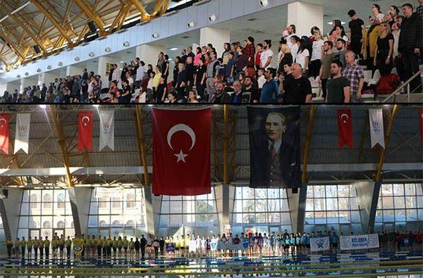 Yüzmede 11-12 yaş dereceleri açıklandı