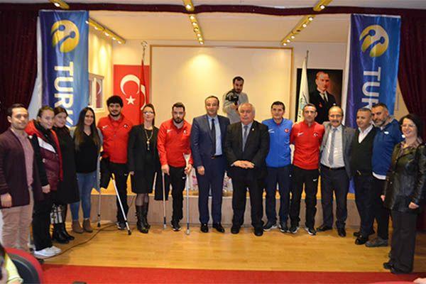 Avrupa Şampiyonları öğrencilerle buluştu