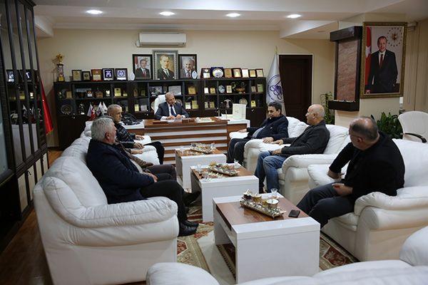 Tenis Kulübü'nden Başkan Dişli'ye ziyaret