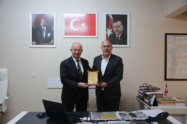Sakarya Spor Adamları'ndan Erol Aydın'a ziyaret