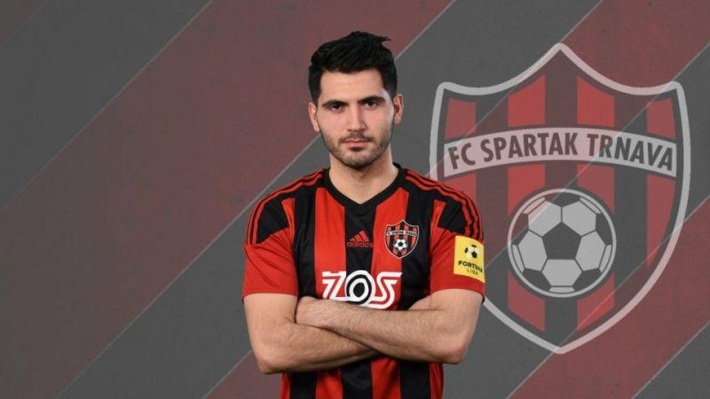 Spartak Trnava'da bir Sakaryalı