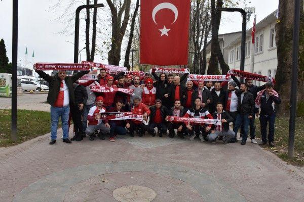 Samsunspor taraftarı Sakarya'da